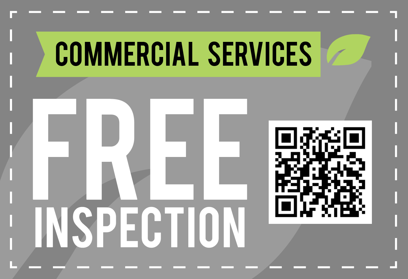 Commercial Services Free Inspection Coupon