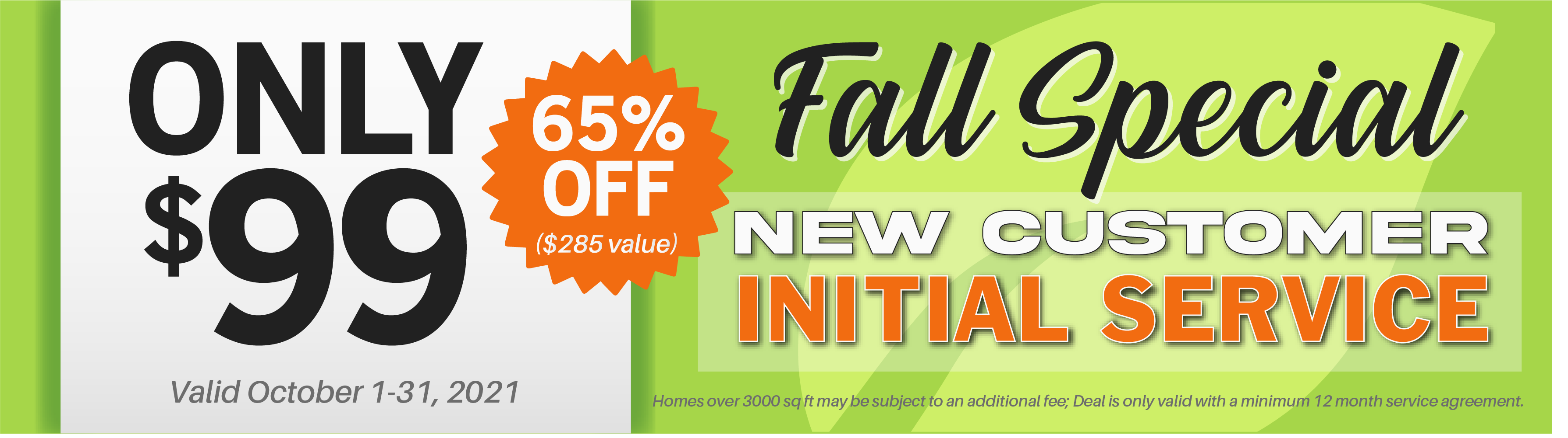 Scout Pest Control Fall Coupon